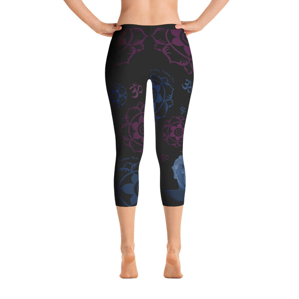 capris leggings for yoga by Sushila Oliphant