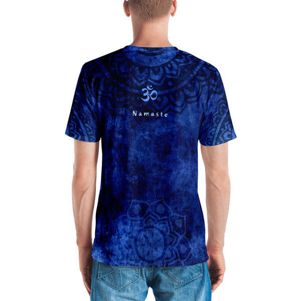 men's spiritual t-shirt with Hindu God Brahman by Sushila Oliphant, Apparel for the Spirit