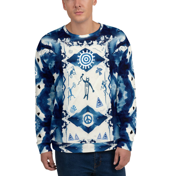 Native American tribal and spiritual sweatshirt by Sushila Oliphant for Apparel for the Spirit