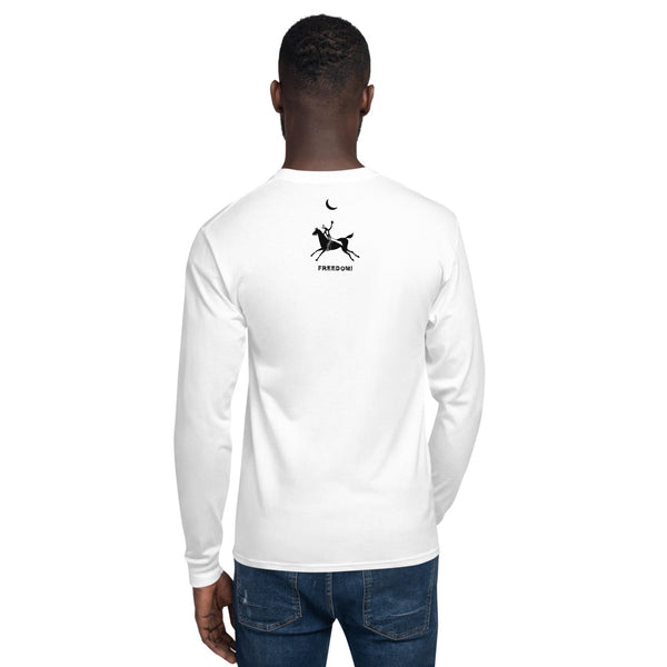Nature Spirits (white) - Men's Champion Long Sleeve Shirt