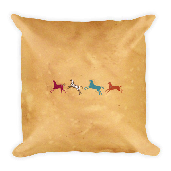 Star Beings meditation pillow by Sushila Oliphant