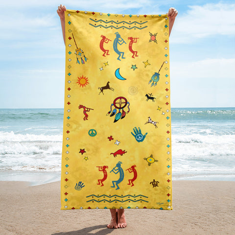 Southwest Vibes Beach Towel