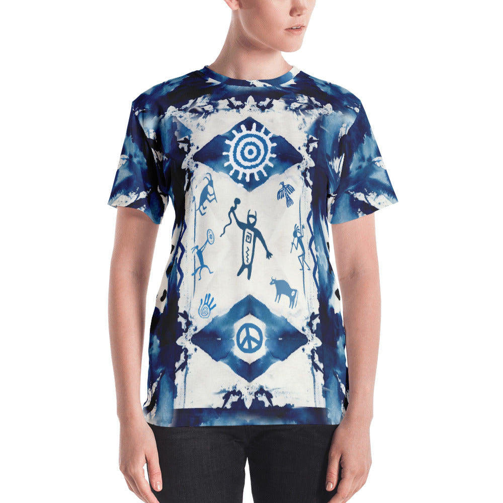 Native American spiritual t-shirt by Sushila Oliphant