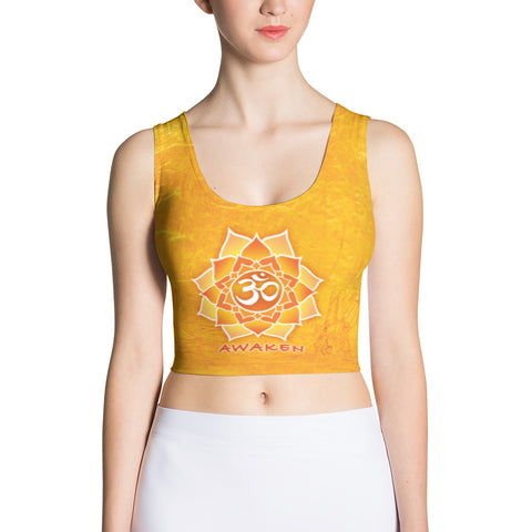 Awaken - Yoga Sublimation Crop Top