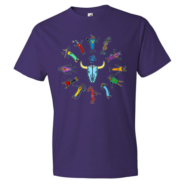 Native American themed t-shirt by Sushila Oliphant