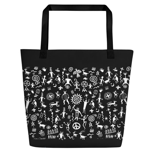 Nature Spirits Yoga Beach Bag