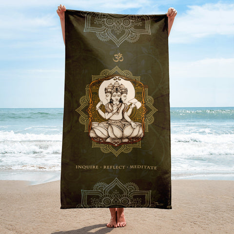 Brahman Yoga Beach Towel