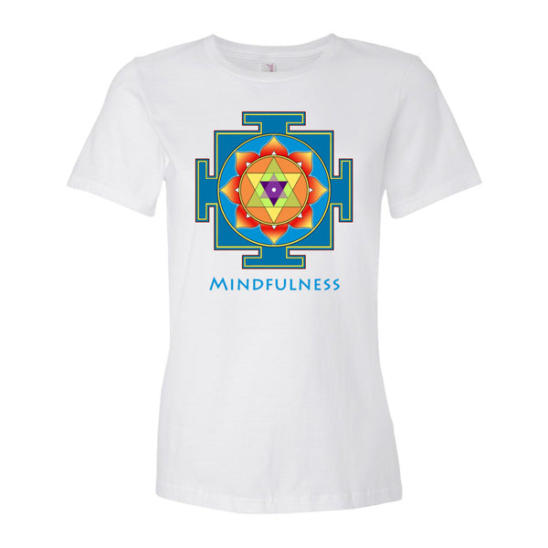 Yantra of Ganesha yoga t-shirt by Sushila Oliphant, apparel of the spirit