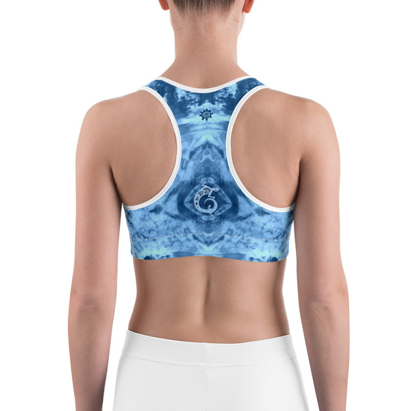 Native American yoga sports bra by Sushila Oliphant