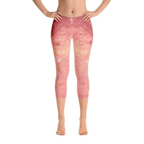 Lotus Sunrise Capri Leggings