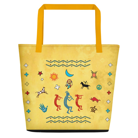 Southwest Vibes Beach Bag