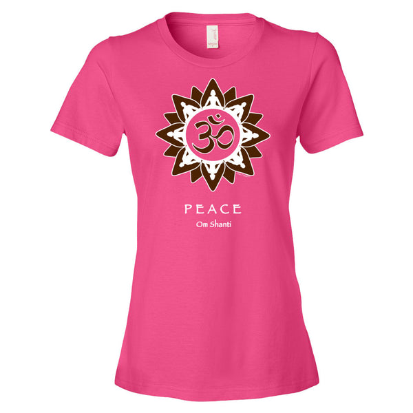 Women's short sleeve t-shirt - Peace, Peace