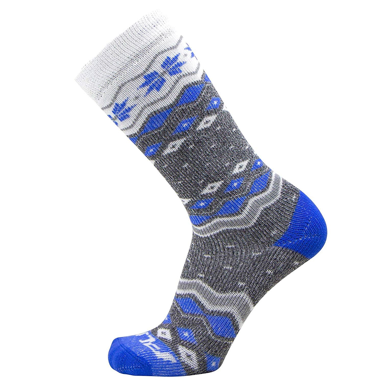 Snowflake Kids Ski Socks