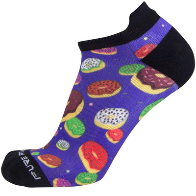 No-Show Colorful Running Socks