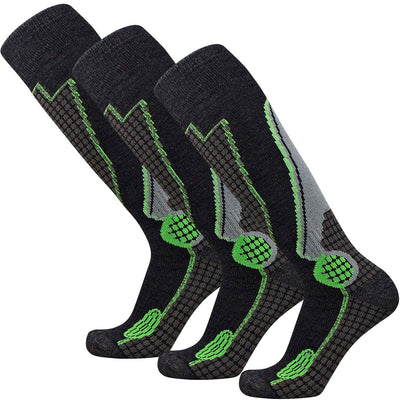 High Performance Wool Ski Socks