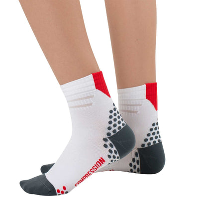 Dotted Ankle Running Socks