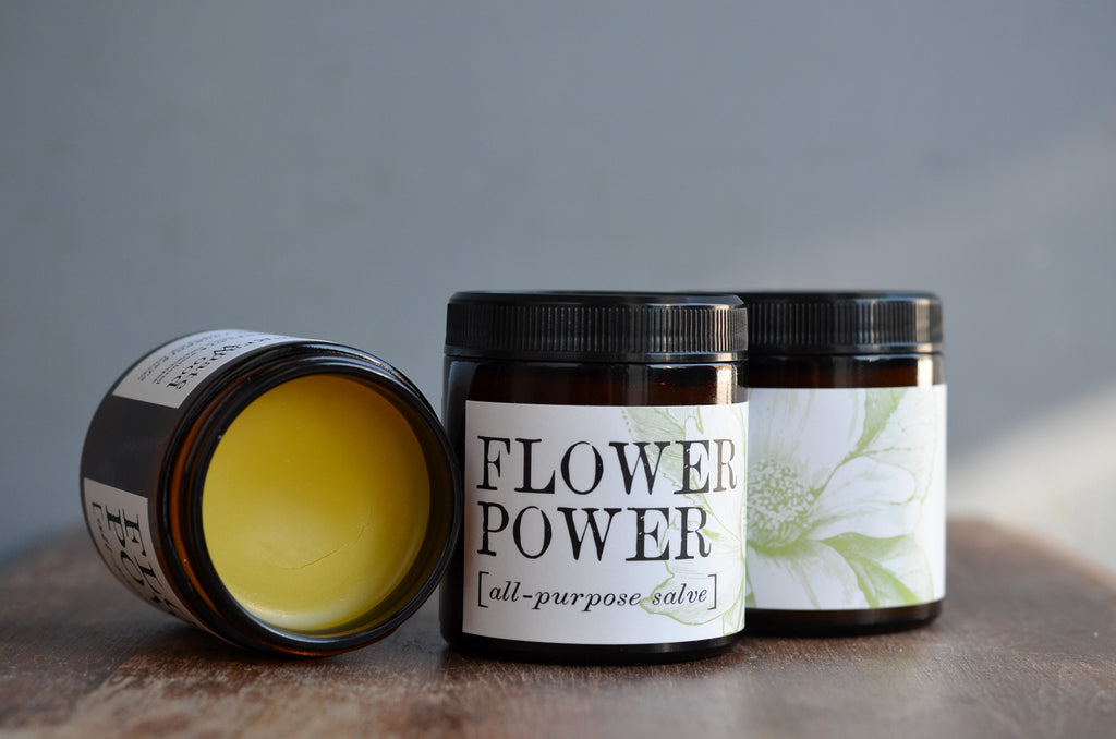 Flower Power All-Purpose Salve (4 oz.)