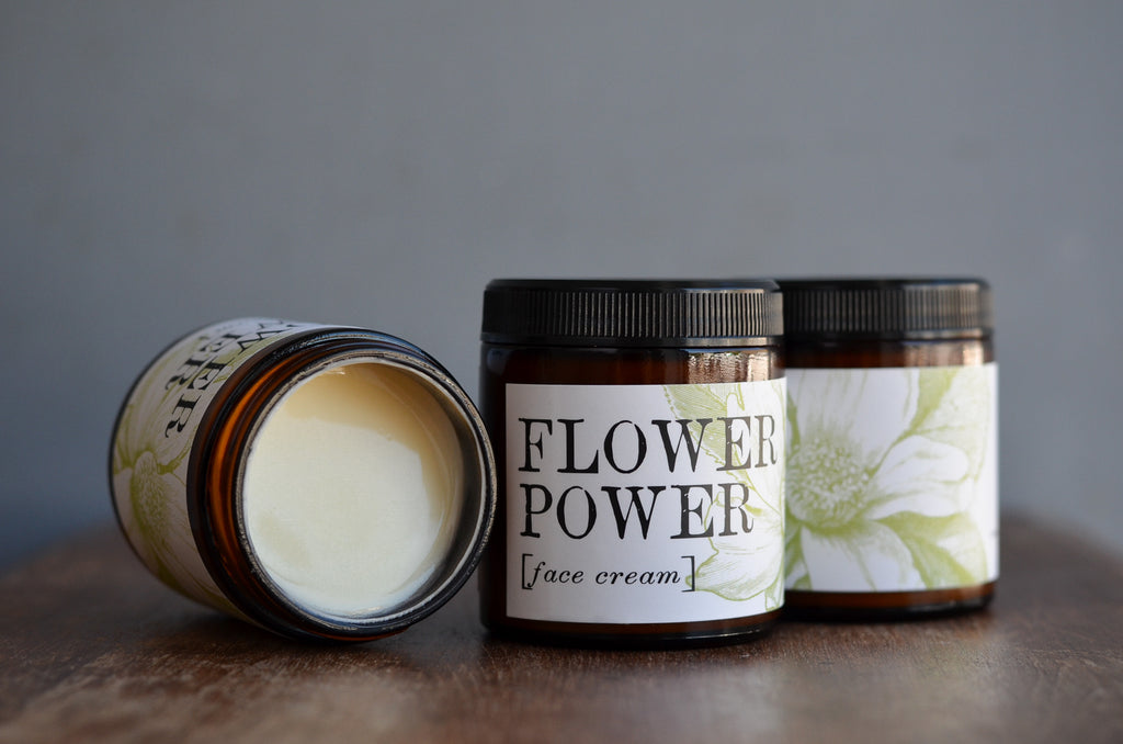 Flower Power Face Cream (4 oz.)