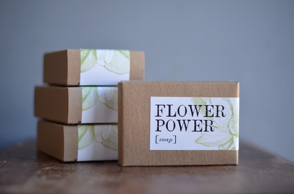 Flower Power Soap Bar