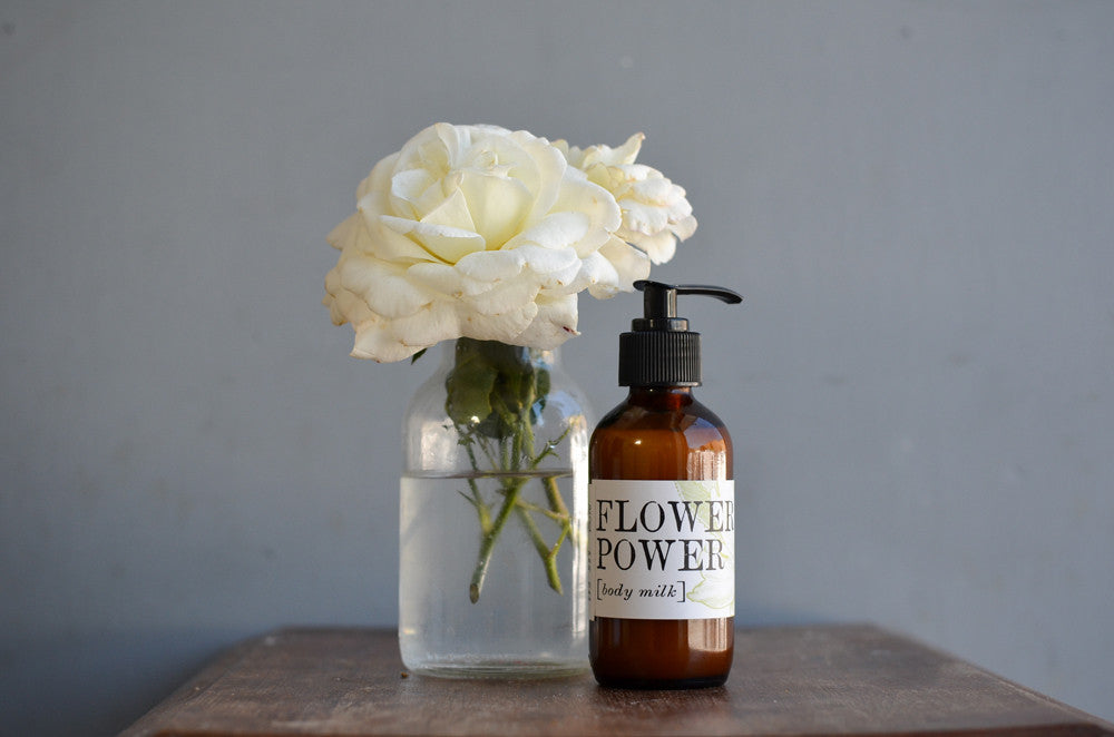 Flower Power Body Milk (8 oz.)