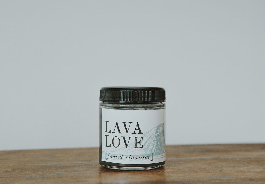 Lava Love Facial Cleanser 4 oz.