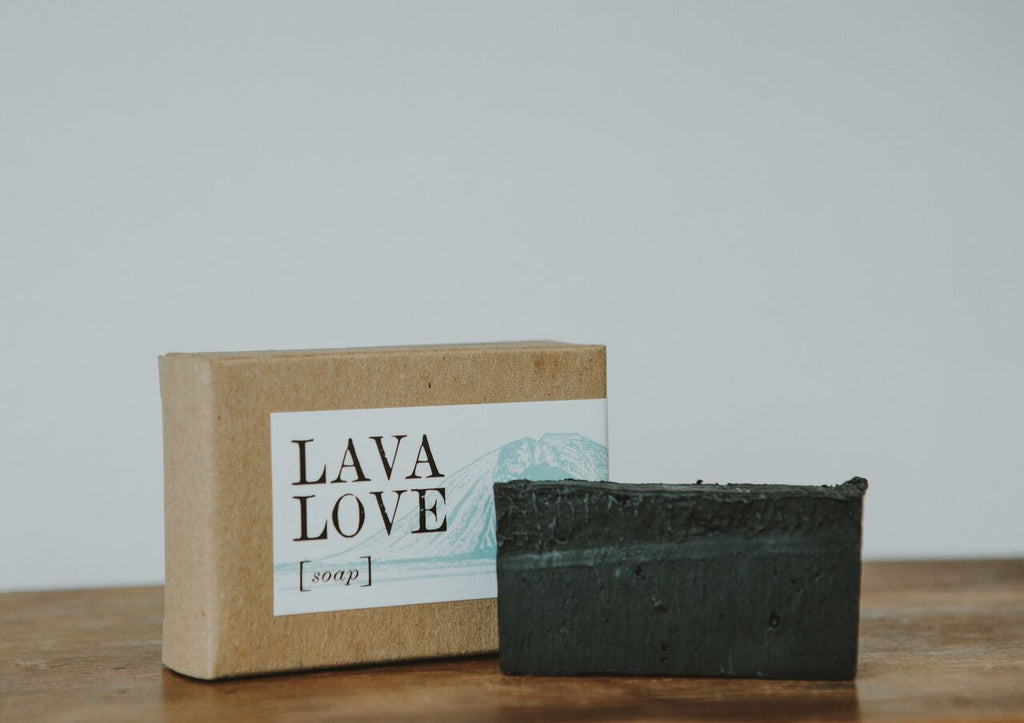 Lava Love Activated Charcoal Soap