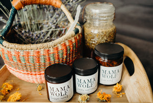 MAMA WOLF GIFT SET (BABY SHOWER GIFT)