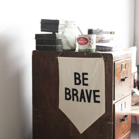 be brave Dot & Lil office photo