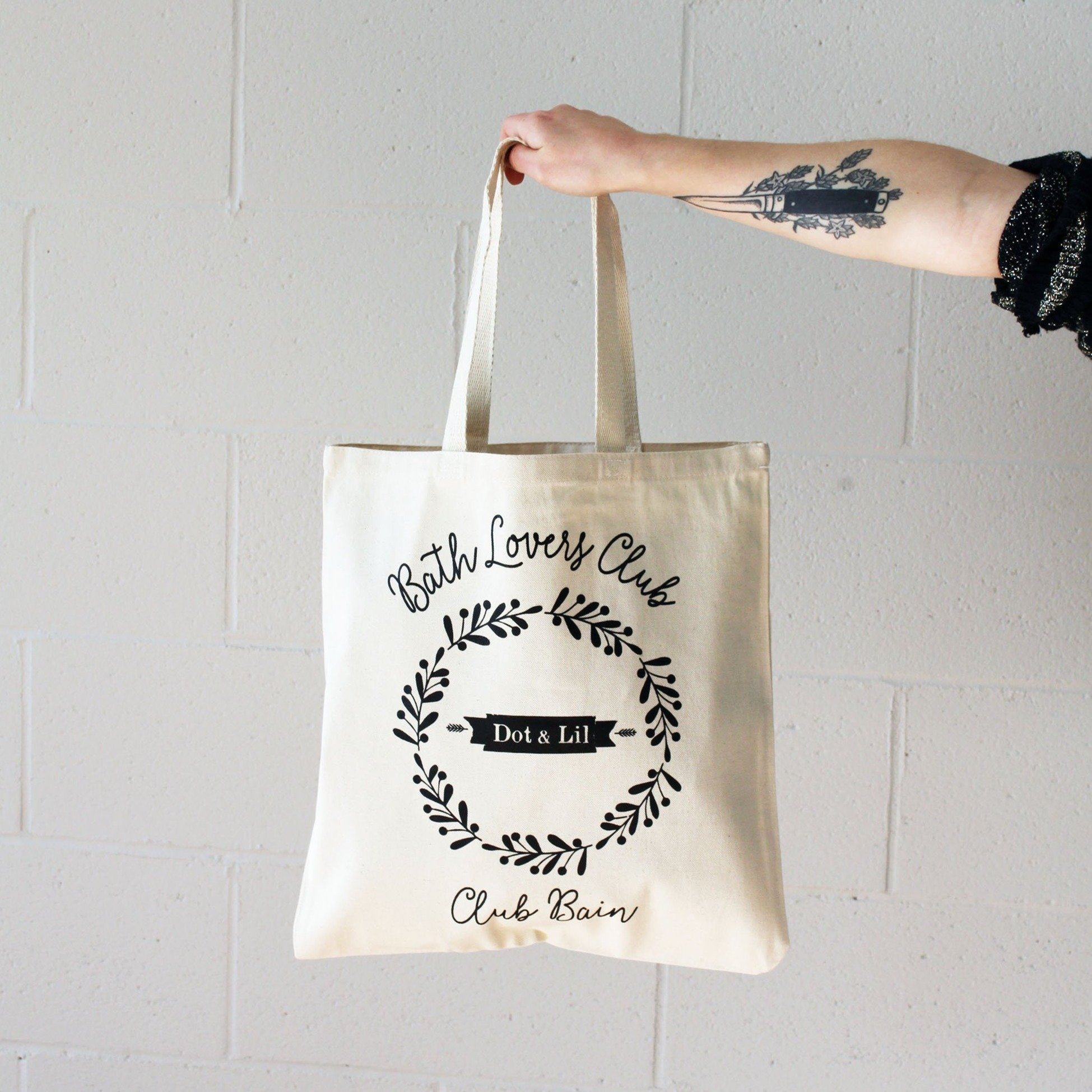 Dot & Lil tote bag