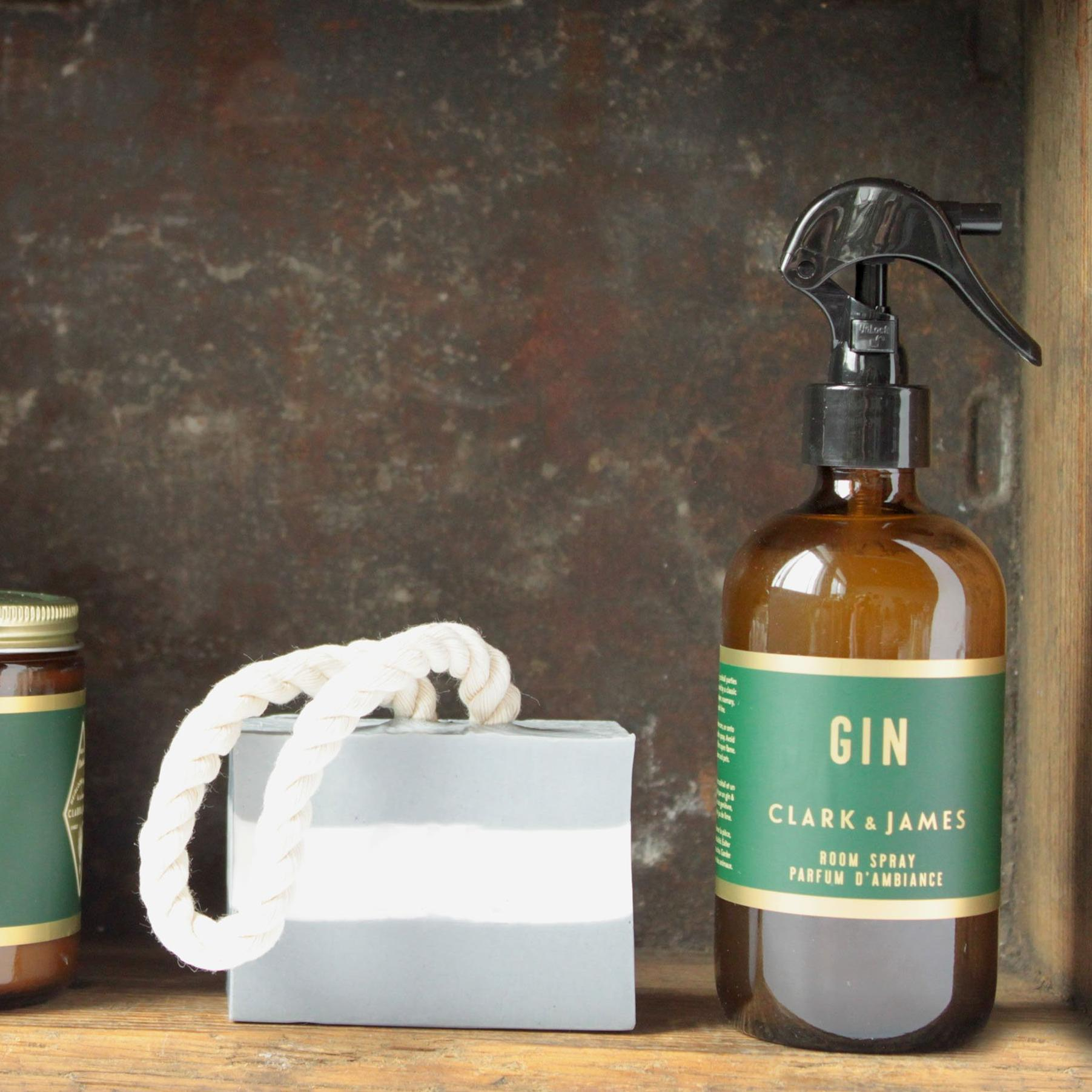 Clark & James Gin room spray