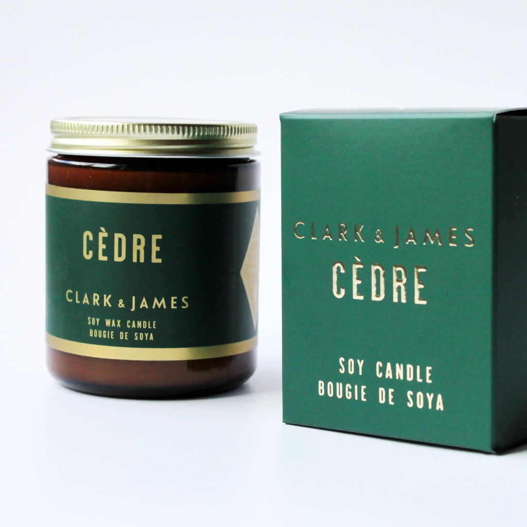 Clark & James Cèdre candle