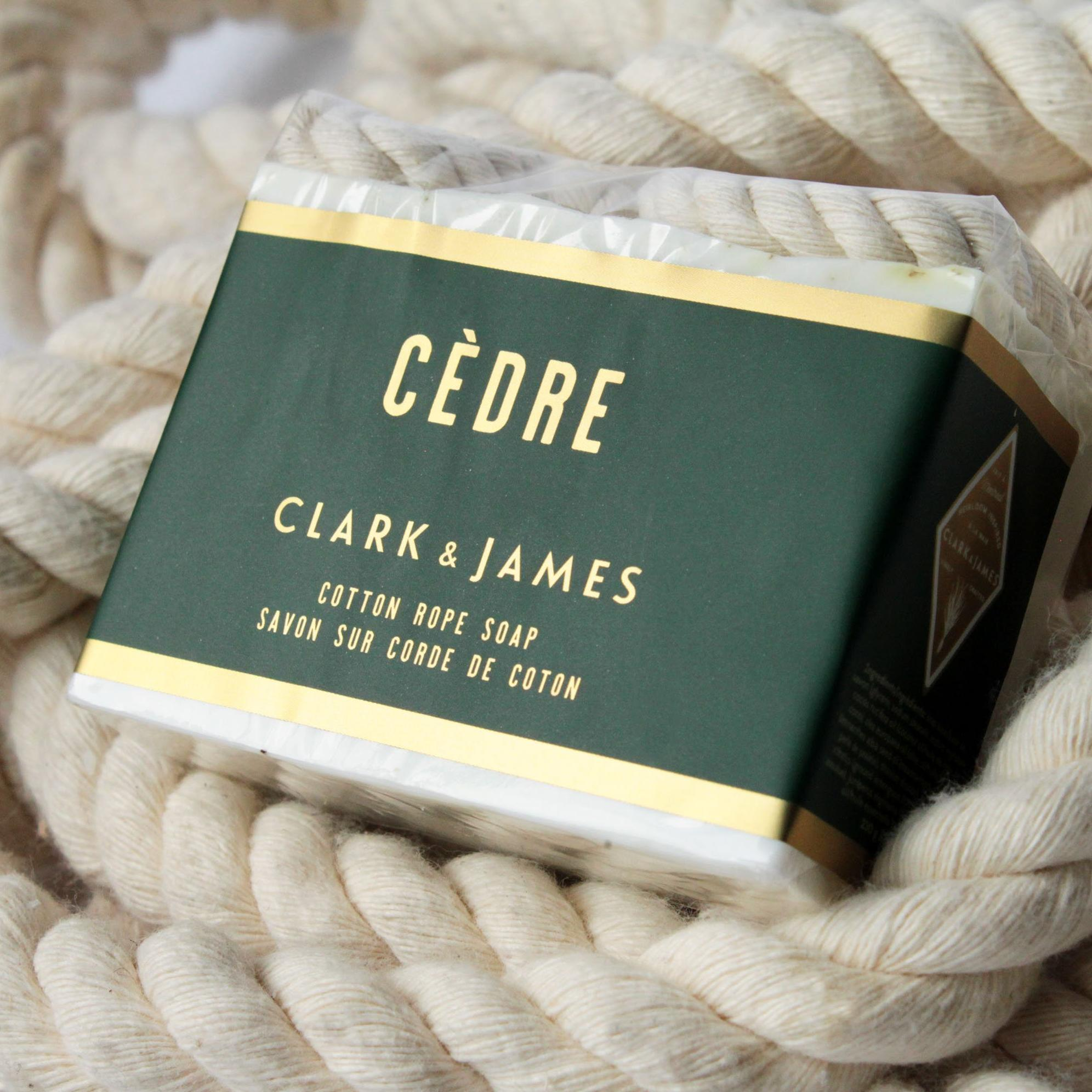 Cèdre cotton rope soap