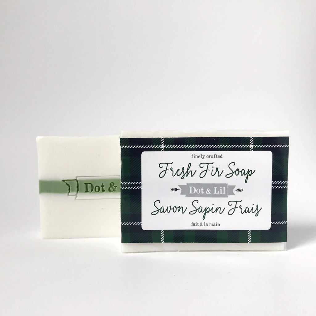 fresh fir soap