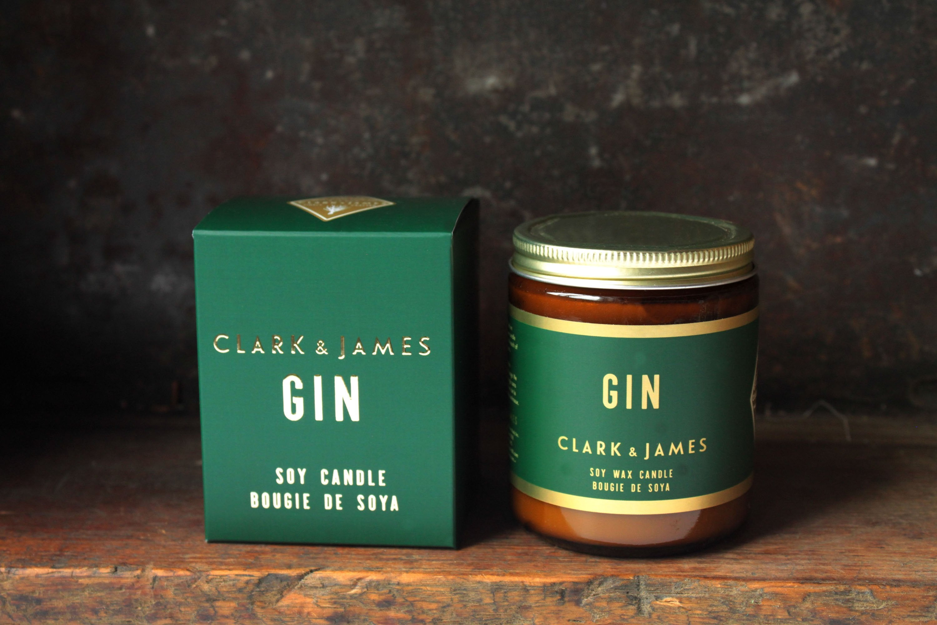 Clark & James Gin candle