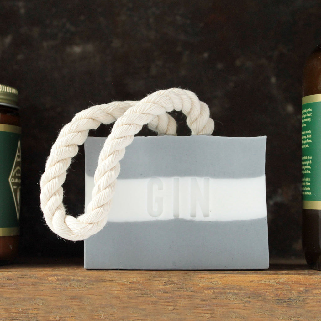 Gin cotton rope soap