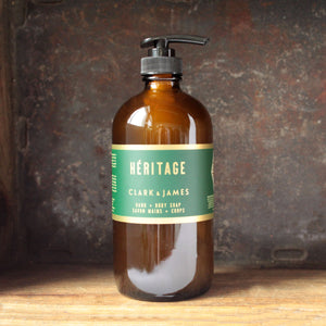 Clark & James Héritage liquid soap