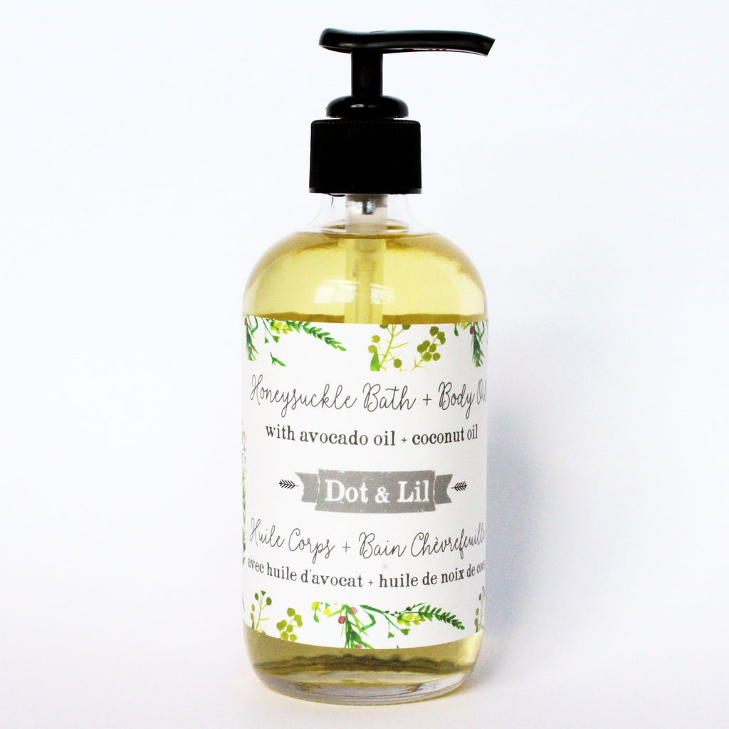 honeysuckle body oil