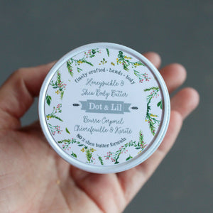 honeysuckle & shea body butter