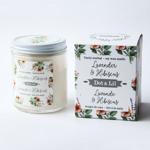 fresh fir soy candle