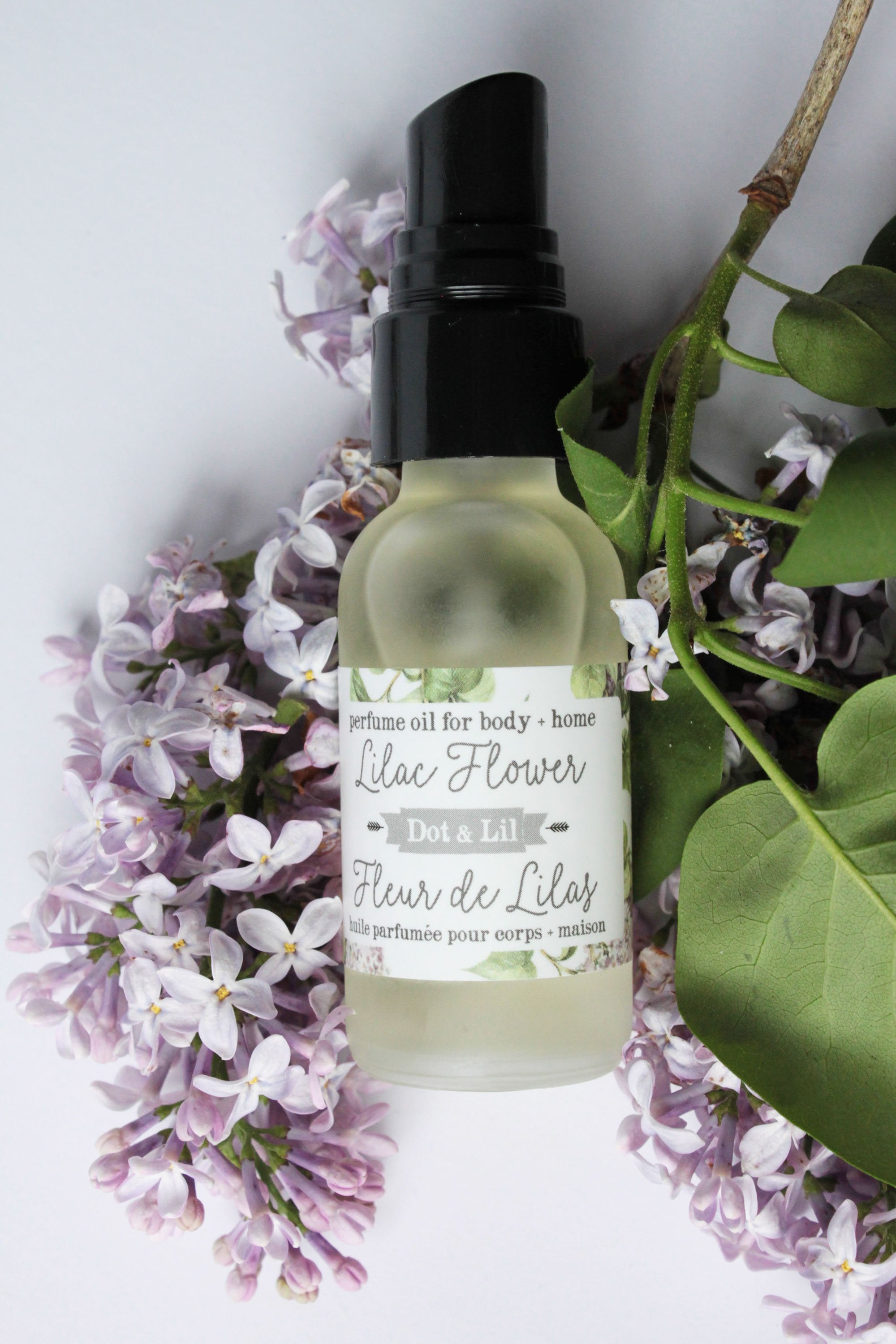 lilac flower perfume oil