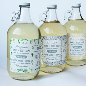 rice flower liquid soap