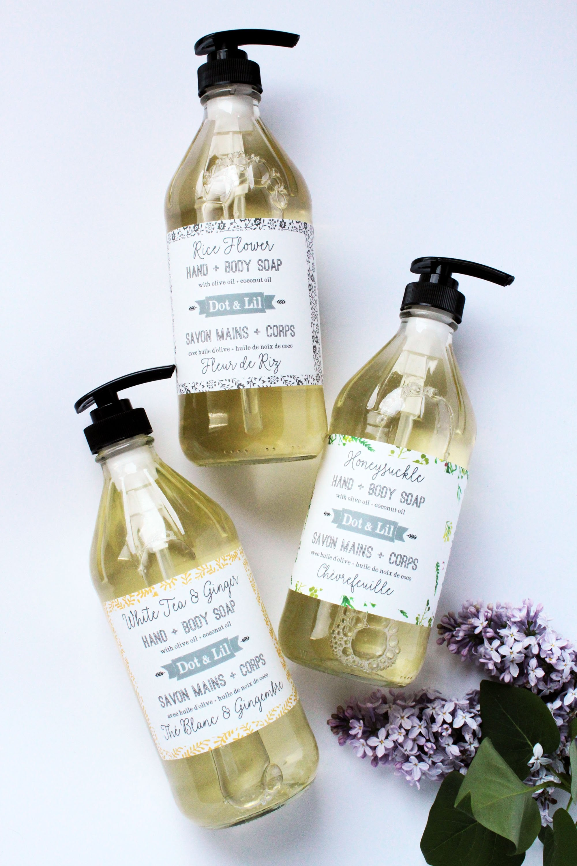 honeysuckle liquid soap