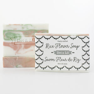 rice flower soap