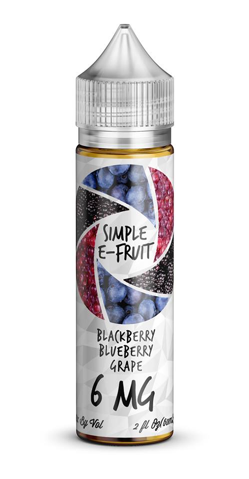 Simple E-Fruit Blueberry Blackberry Grape 60ml