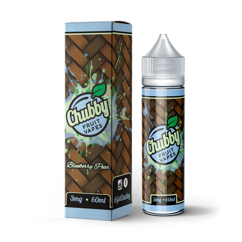 Chubby Fruit - Blueberry Pear 60ml