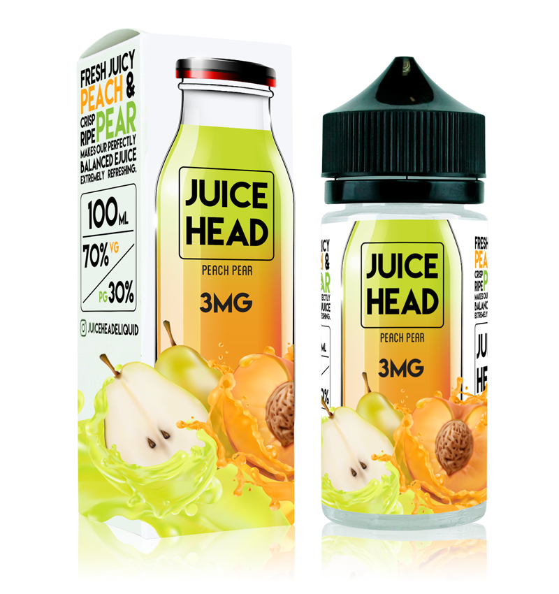Juice Head - Peach Pear (100ml)