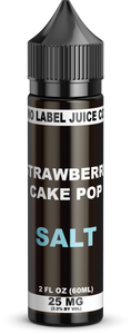 NO LABEL JUICE CO - STRAWBERRY CAKE POP SALT (30ML)