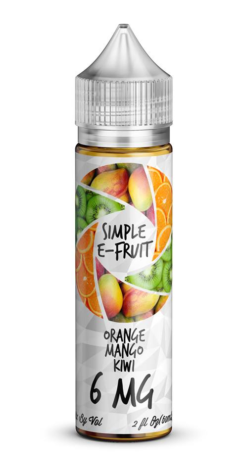 Simple E-Fruit Orange Mango Kiwi 60ml
