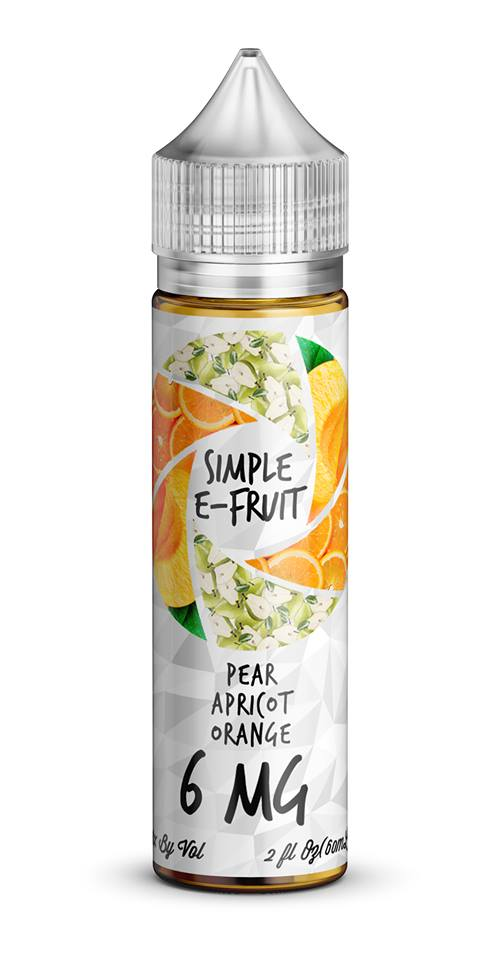 Simple E-Fruit Pear Apricot Orange 60ml