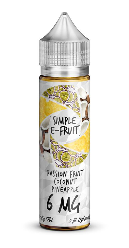 Simple E-Fruit Passion Fruit Coconut Pineapple 60ml